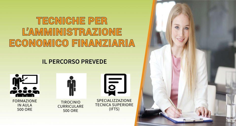 Corso IFTS in Tecniche per l'amministrazione economico finanziaria