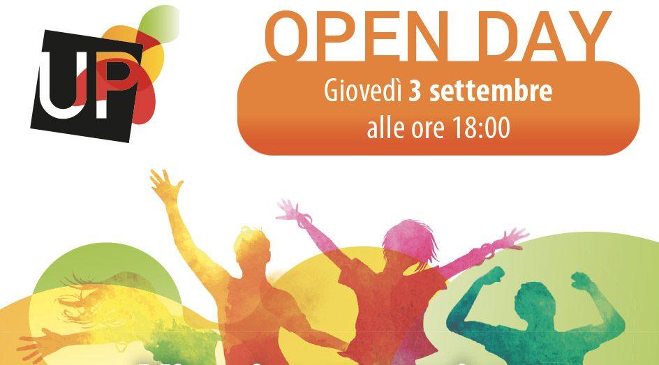 Open day UPprendo 3 settembre